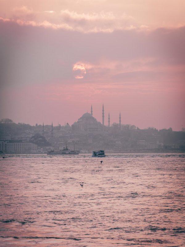 Istanbul foto zonsondergang