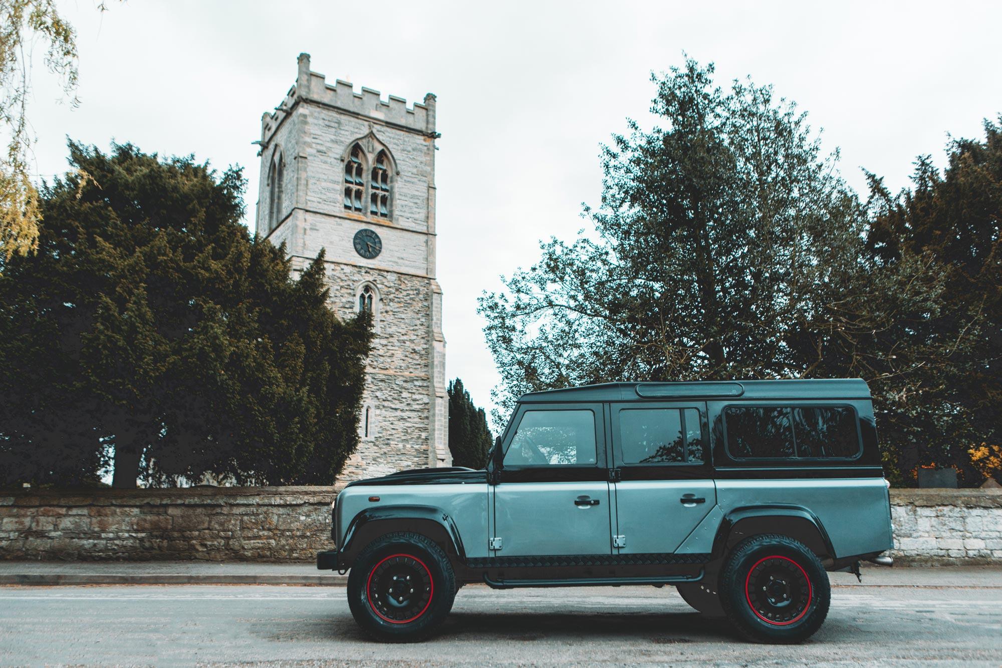 Land Rover Chauffeur inhuren trip foto